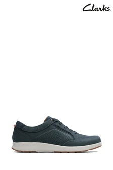Clarks Blue Un Trail Form Shoes