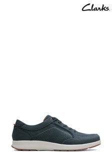 Niebieskie buty Clarks Un Trail Form