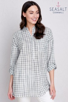 Seasalt Hachure Harbour Arts & Crafts Shirt
