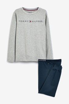Tommy Hilfiger Boys Logo Pyjama Set