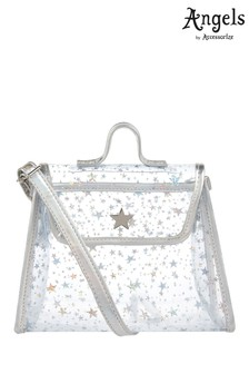 Angels by Accessorize Silver Star Jelly Across Body Bag