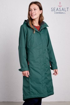 Seasalt Green Janelle Dark Wreckage Coat