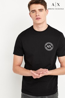 Armani Exchange T-Shirt, Schwarz