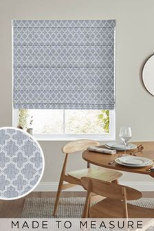 Helio Fog Grey Made To Measure Roman Blind