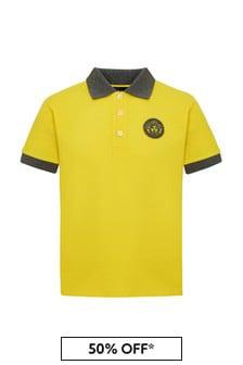 Versace Boys Cotton Polo Shirt