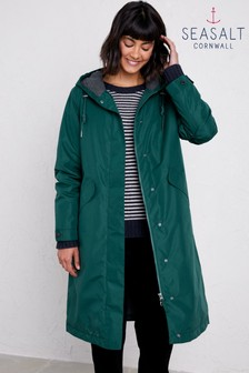 Seasalt Green High Water Dark Wreckage Coat