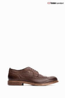 Base London® Brown Onyx Softy  Lace-Up Brogues