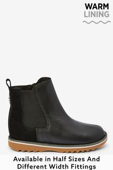 Warm Lined Chelsea Boots