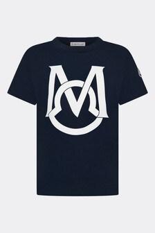 Moncler Enfant Cotton T-Shirt