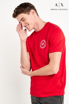 Armani Exchange T-Shirt, Rot