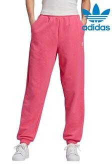 adidas Originals Pink Essential Joggers