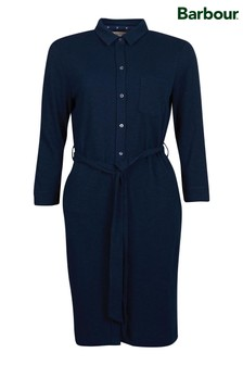 Barbour® Coastal Navy Jersey Auklet Shirt Dress