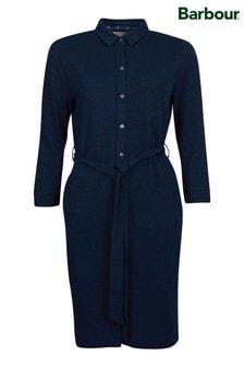 Barbour® Coastal Navy Jersey Auklet Shirt Dress