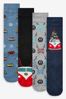 Volkswagen Socks Four Pack