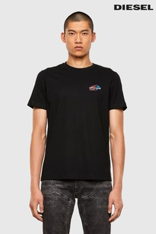 Diesel® Black Star Logo T-Shirt