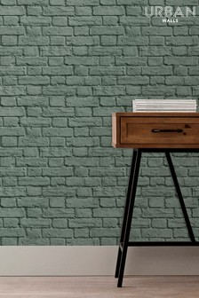 Urban Walls Painted Brick Wallpaper by Urban Walls