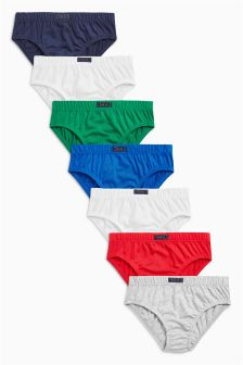 Briefs Seven Pack (1.5-12yrs)