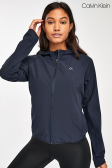 Calvin Klein Performance Blue Windbreaker Jacket