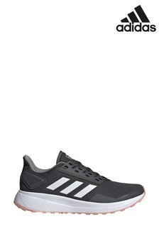 adidas Run Black/White Duramo 9 Trainers
