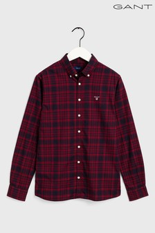 GANT Boys Twill Check Shirt