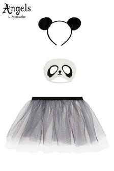 Angels by Accessorize Black Panda Dress Up Set
