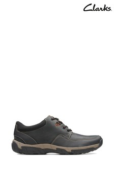 Clarks Walbeck Edge II Schuhe, Schwarz