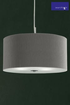 Horgen 3 Light Pleated Pendant by Searchlight