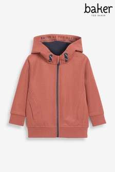 Baker by Ted Baker Orange Hoodie