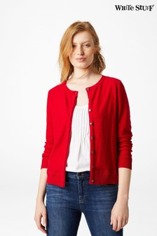 White Stuff Red Harbour Button Cardigan