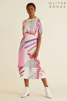 Oliver Bonas Mix & Match Star Print Dress