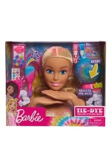 Barbie Deluxe Blonde Tie Dye Styling Head