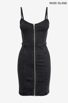 River Island Black Fantasia Dress