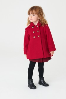 Coat With Wool (3mths-10yrs)