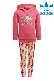 adidas Originals Little Kids Zig Zag Hoodie Set