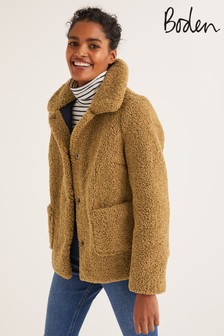 Boden Neutral Kemble Coat
