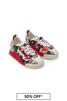 Dolce & Gabbana Kids Girls Multicoloured Trainers