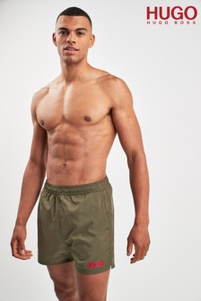 HUGO Green Kuba Swim Shorts