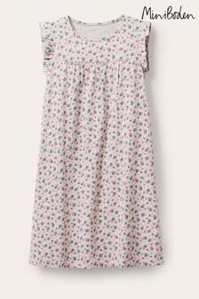 Boden Ivory Printed Short-Sleeved Nightie