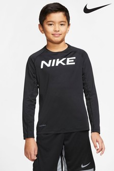 Nike Black Long Sleeve Performance T-Shirt
