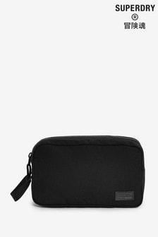 Superdry Black Workwear Washbag