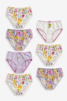 7 Pack Bunny Briefs (1.5-12yrs)