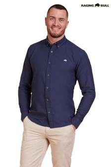 Raging Bull Blue Signature Oxford Shirt