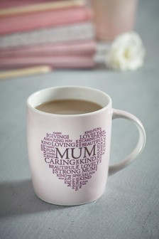 Metallic Mum Mug