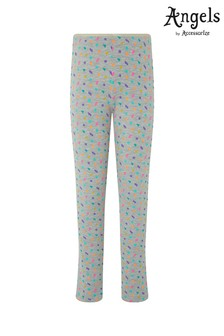 Angels by Accessorize Grey Lightning Print Leggings