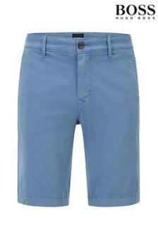 BOSS Blue Schino Slim Shorts