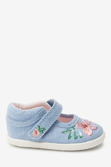 Mary Jane Crawler Shoes (Younger)