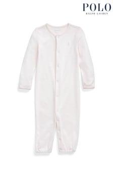 Ralph Lauren Pink Logo Converter Gown