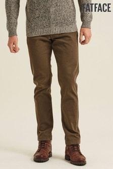 FatFace Green Ashton 5 Pocket Trousers