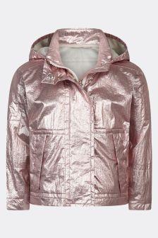 Moncler Enfant Girls Pink Klarise Jacket