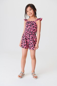 Ruffle Pom Playsuit (3-16yrs)